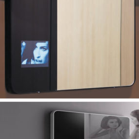 Multimedia Mirror – Hi_Mirror by Valli Arredobagno
