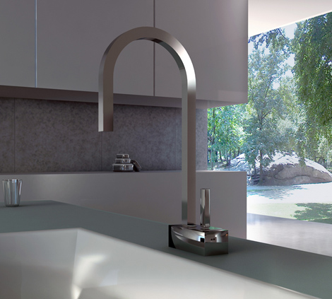 valpra kitchen faucet plain 2 Kitchen Faucets from Valpra – Plain