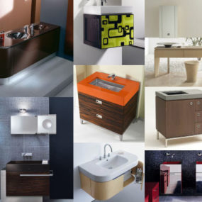 Bathroom Vanities Trend 2007 – the European Contemporary vanity style is in!