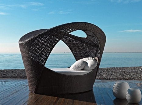 varaschin poolside daybeds design 1 Poolside Daybeds   Altea design daybed from Varaschin