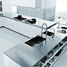 Italian Kitchen Design by Poliform – Matrix Varenna modern kitchens