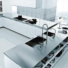 Italian Kitchen Design by Poliform – Matrix Varenna modern kitchens