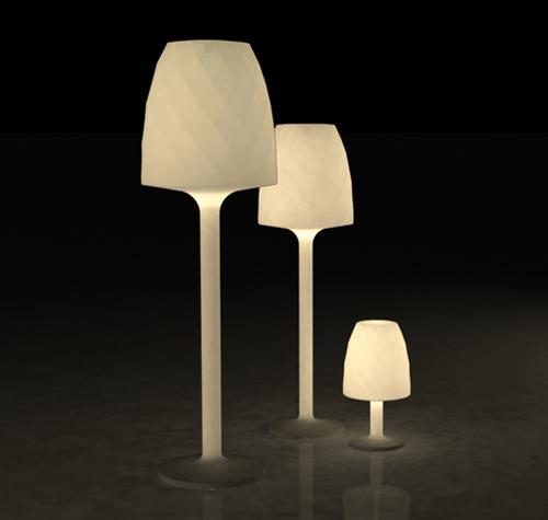 vases lampara vondom 2 Contemporary Romantic Lighting   Vases Lampara by Vondom
