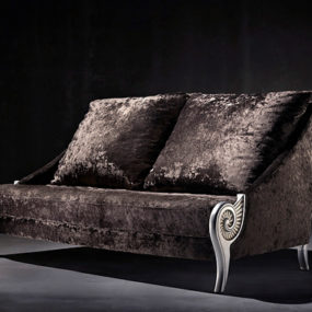 Velvet Sofas and Loveseats by Coleccion Alexandra