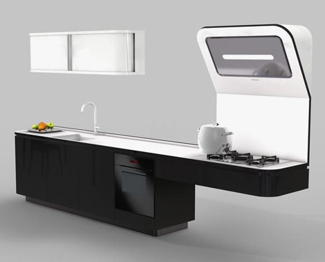 Practical Kitchen by Veneta Cucine – Liquida