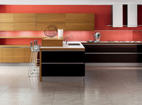 Zebrano Wood Kitchen by Veneta Cucine – Oyster kitchen