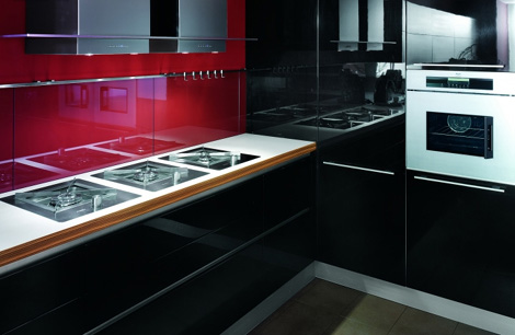 Zebrano Wood Kitchen by Veneta Cucine - Oyster kitchen