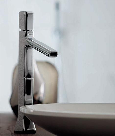 Timeless Chrome Faucets By Zucchetti Kos Faraway Bathroom