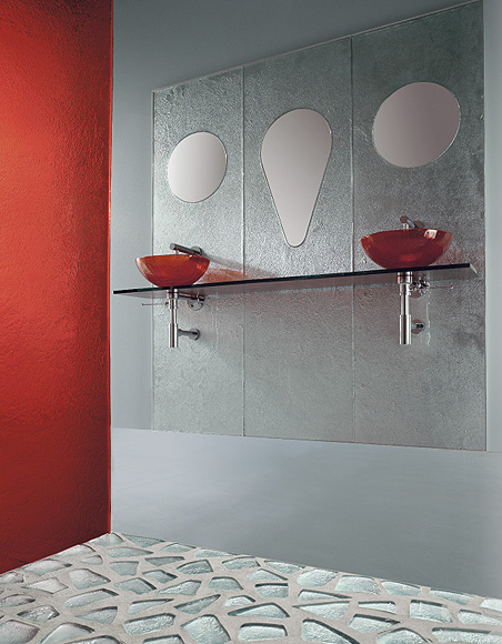 Wonderful Vetrocolor Glass Tile For Bathrooms Ideas Clear 6. Nice Design