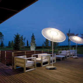 Cool Outdoor Lamp by Vibia – Wind