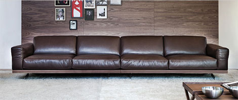 vibieffe fancy 470 sofa Large Modern Sofa by Vibieffe   Fancy 470