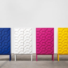 Vibrant Cabinets by A2 Designers – Collect 2011