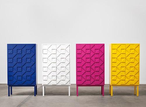vibrant cabinets a2 designers collect 2011 1 Vibrant Cabinets by A2 Designers   Collect 2011