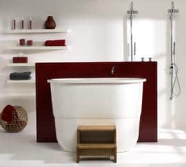 New Sorrento 02 Airspa tub from Victoria & Albert Baths – hydrotherapy for two