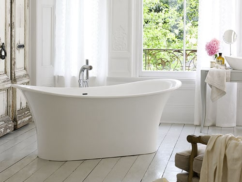 victoria albert bathtub toulouse 1 French Bathtub for French Boudoir Bathing   new Toulouse by Victoria&Albert