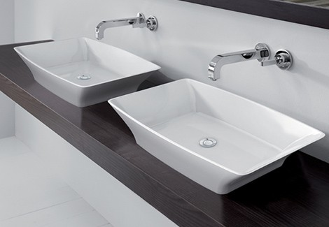 Countertop Basins New Basin Designs From Victoria Albert - Counter top bathroom sinks