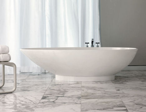 victoria and albert napoli tub Contemporary tub from Victoria & Albert   the new egg shaped Napoli tub