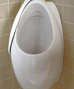 Oblic Urinal from Villeroy & Boch – the innovative urinal