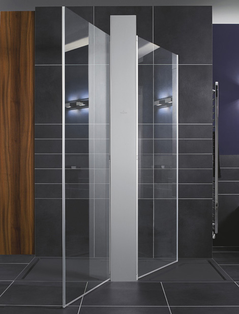 villeroy boch bathroom collection squaro 2 Cool Walk In Shower Ideas   new Squaro designs by Villeroy&Boch
