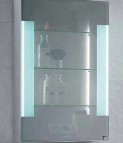 Transimage mirror medicine cabinet from Villeroy & Boch – the translucent mirror cabinet