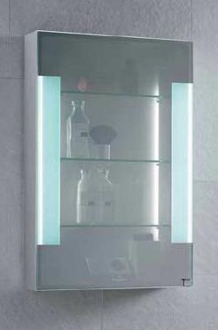 villeroy boch mirror cabinet transimage Transimage mirror medicine cabinet from Villeroy & Boch   the translucent mirror cabinet