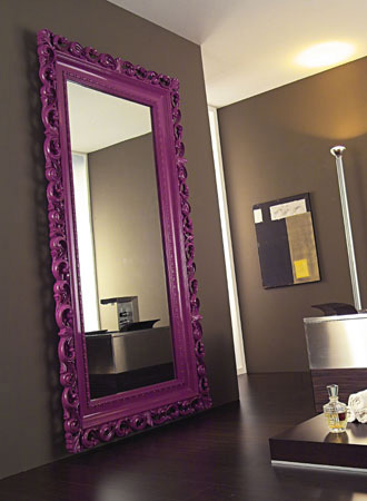 vismarabaroquemirror Modern Decorative Frames from Vismara   the new way to decorate your nest