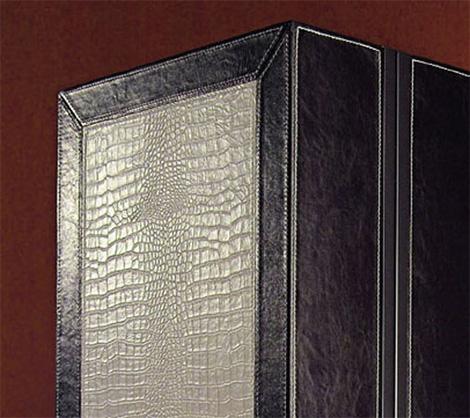 vismarasrignglamurocenr1 Luxury Entertainment Center from Vismara   leather upholstered wall units