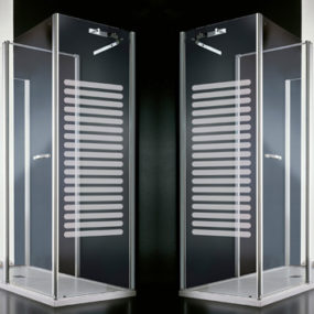 Shower Wall Radiator by Vismaravetro – In-Out
