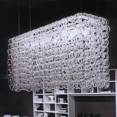 vistosi giogali crystal lamp Crystal Lighting from Vistosi   Giogali