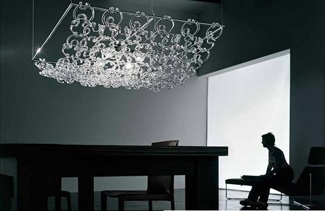 vistosi giogali suspension lamp Crystal Lighting from Vistosi   Giogali