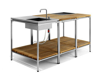 viteo outdoors furniture kitchen Outdoor Kitchen from Viteo Outdoors   a modular patio kitchen