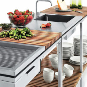 Outdoor Kitchen from Viteo Outdoors – a modular patio kitchen