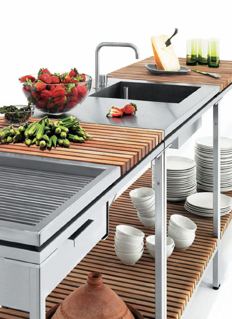 Outdoor Kitchen From Viteo Outdoors U2013 A Modular Patio Kitchen