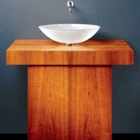 T Vanity from Vitraform – the elegance of wood