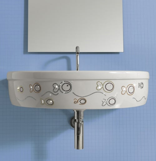 vitruvit bathroom collection young swarovski 1 Swarovski Bathroom Fixtures by Vitruvit