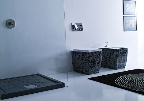 vitruvit bathroom olympic 1 New Bathroom Suite from Vitruvit – Olympic has Asymmetric Appeal