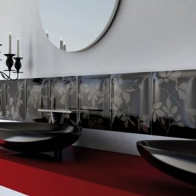 Modern Two-Color Tiles from Viva Ceramica – Chanson D'amour