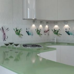 Flower Pattern Tiles from Viva Ceramica – White Flowers and Colored Flowers