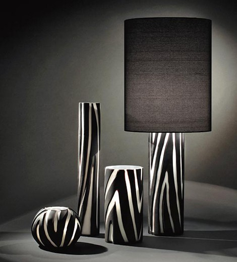 vivarini lamp zebra 1 Modern Murano Glass Lamp from Formia   Vivarini animal look lamps Giraffe and Zebra