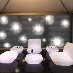 Vondom Pillow Patio Furniture Goes Lighted
