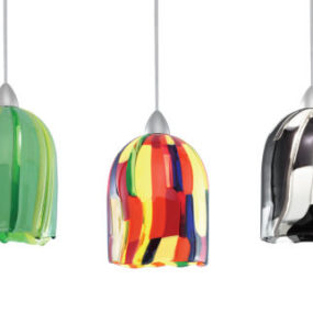 Fused Glass Pendant Shades – The Quick Connect G530 Series by W.A.C. Lighting