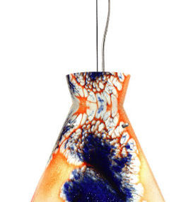 Contemporary Glass Pendants from W.A.C. Lighting – the Galapagos ceiling pendants