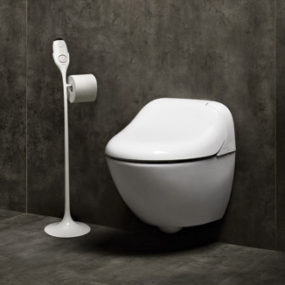 Wall Mount Washlet Toilet by Toto – new modern Giovannoni with remote control