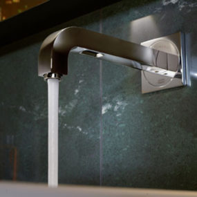 Wall Mounted Electronic Faucet by Antonio Citterio