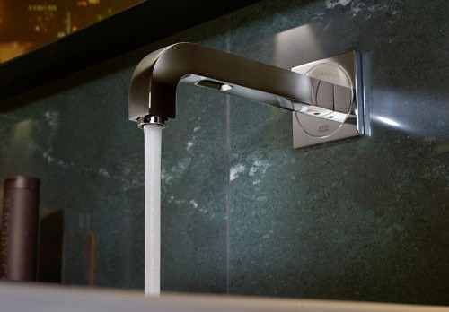 wall mounted electronic faucet antonio citterio 1 Wall Mounted Electronic Faucet by Antonio Citterio