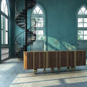 Walnut Wood Furniture by IL Pezzo Mancante