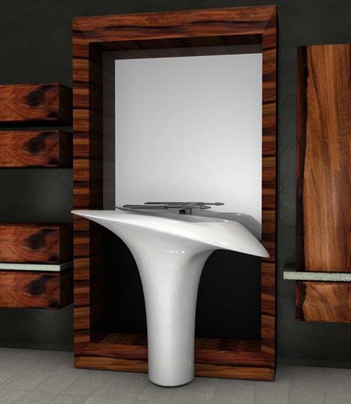 washbasin callas advancedesign 1 Unique Washbasins by Advance Design   Callas