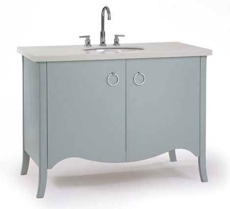 Transitional Bathroom Vanity From Waterfall Bathroom Furniture