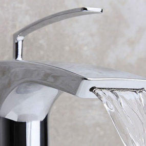 Waterfall Style Faucet by Cristina Rubinetterie – new contemporary Bubbles