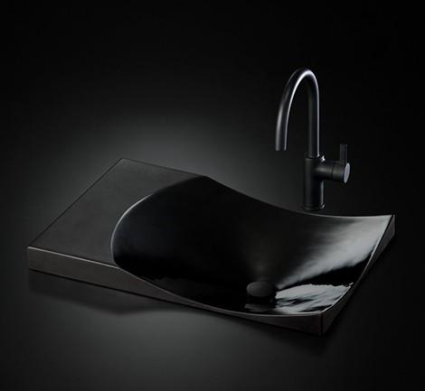Black Lavatories and Black Lavatory Faucets – Toto Waza Noir